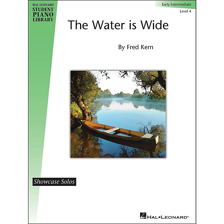 Hal Leonard The Water Is Wide - HLSPL Showcase Solo Level 4 Early Intermediate