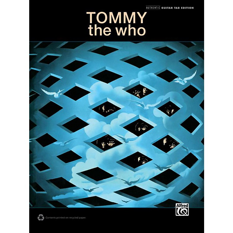 AlfredThe Who - Tommy Guitar TAB Book