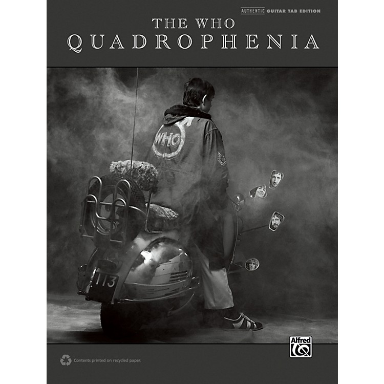 Alfred The Who: Quadrophenia Guitar TAB Book
