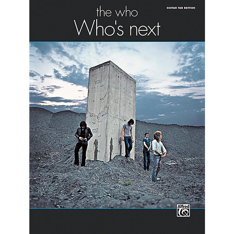 AlfredThe Who: Who's Next Guitar TAB Edition Songbook