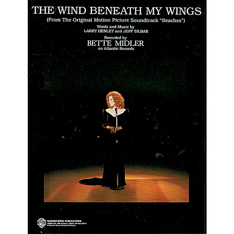 AlfredThe Wind Beneath My Wings (from Beaches) Piano/Vocal/Chords (B-flat)