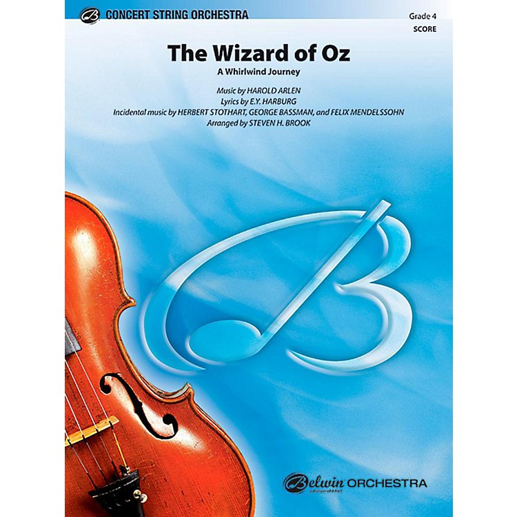 Alfred The Wizard of Oz String Orchestra Level 4 Set
