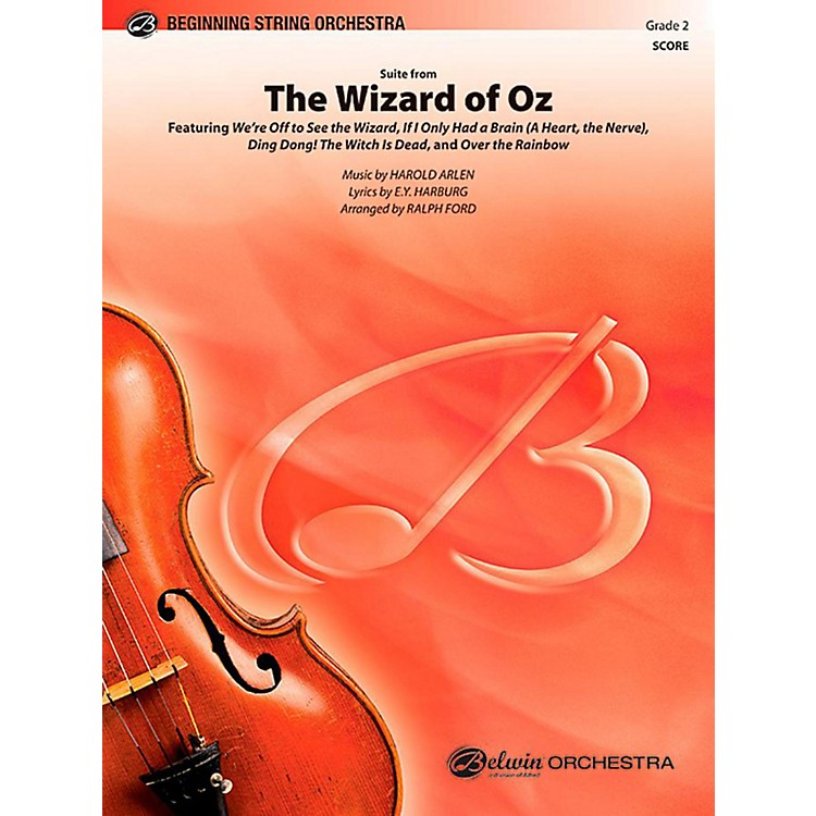 AlfredThe Wizard of Oz, Suite from String Orchestra Level 2 Set
