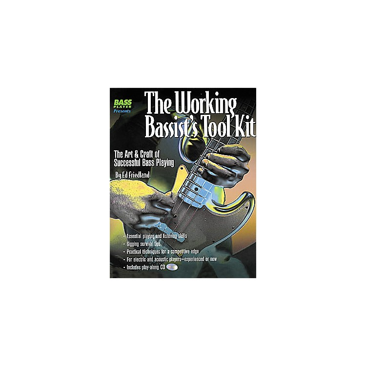 Backbeat Books The Working Bassist's Tool Kit (Book/CD)