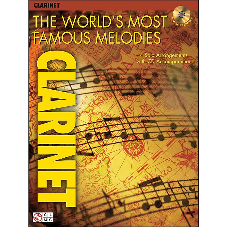 Cherry Lane The World's Most Famous Melodies for Clarinet Book/CD