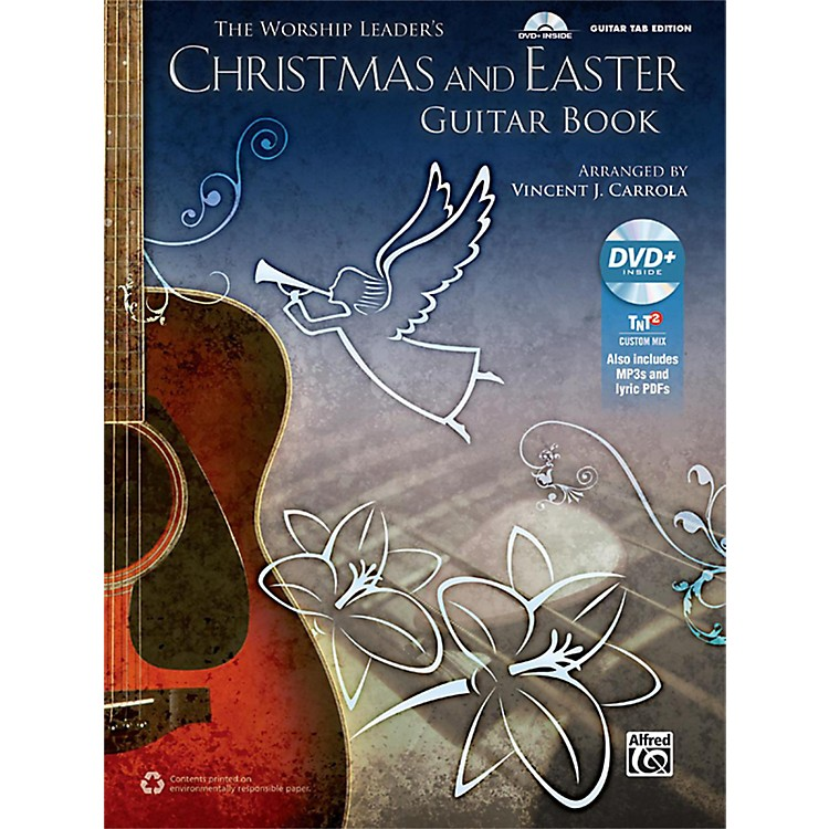 AlfredThe Worship Leader's Christmas and Easter Guitar TAB (Book/MP3 CD)