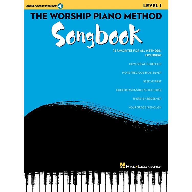 Hal LeonardThe Worship Piano Method Songbook - Level 1 Book w/ Audio Online