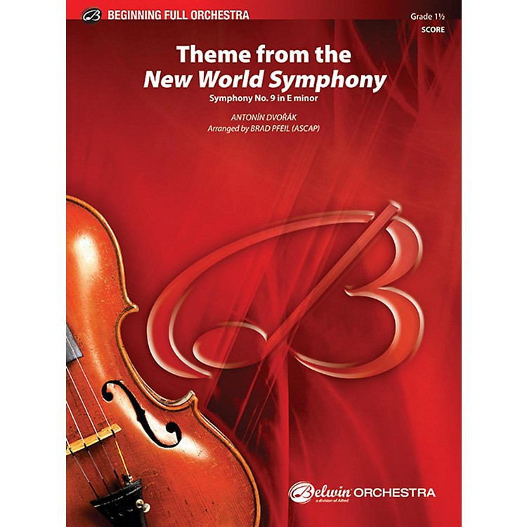 Alfred Theme from the New World Symphony Full Orchestra Grade 1.5