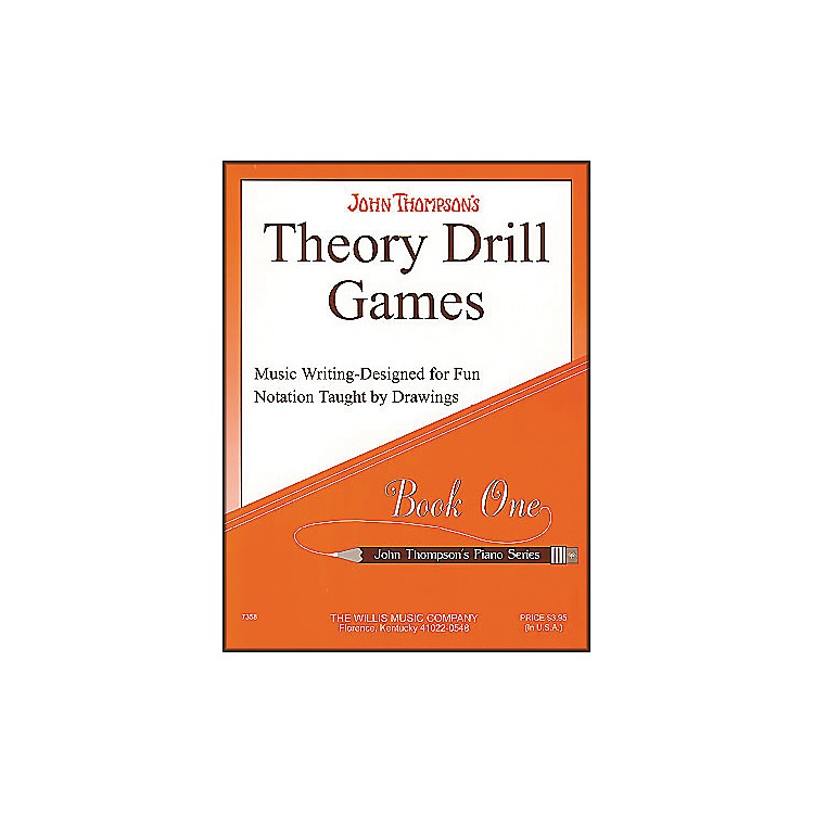 Willis MusicTheory Drill Games Book 1