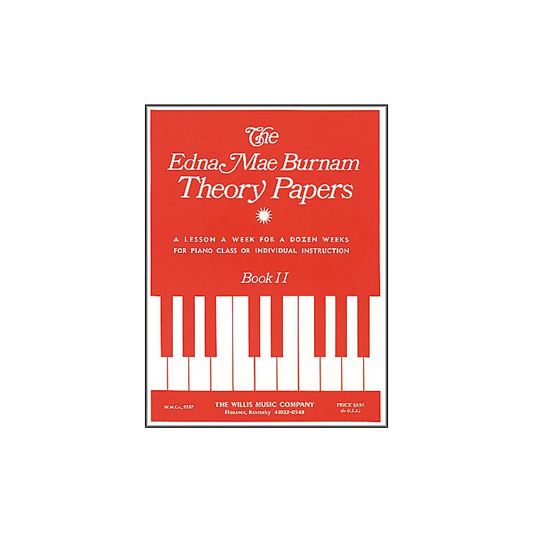 Willis MusicTheory Papers Set 2 Mid-Elementary Level