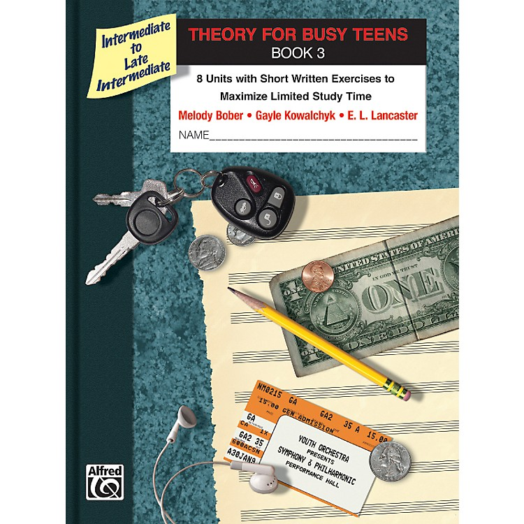 AlfredTheory for Busy Teens Book 3