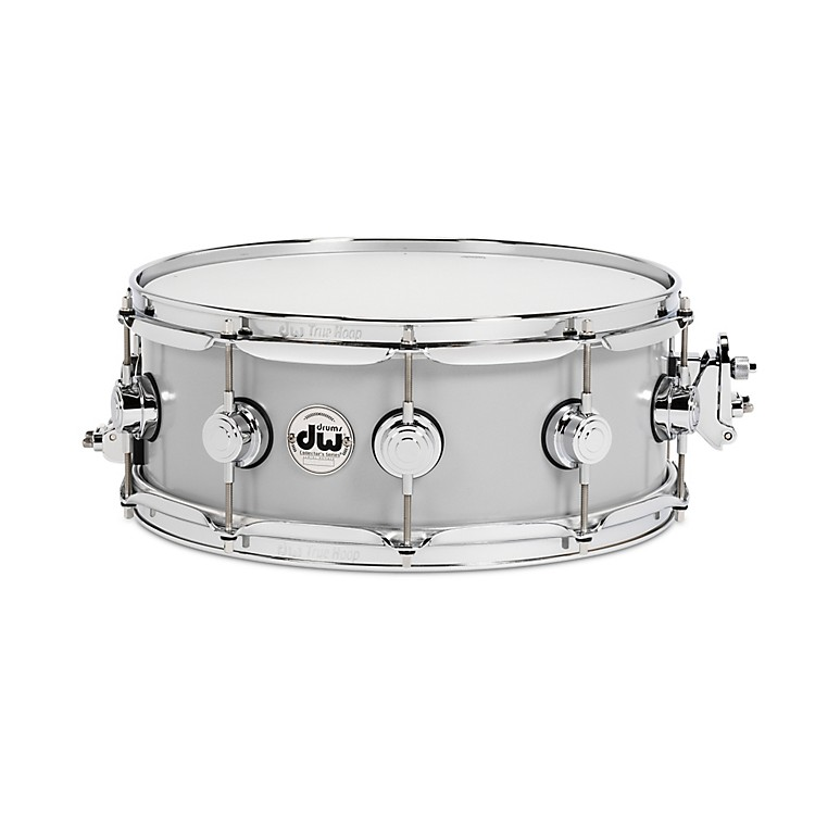 DW Thin Aluminum Snare Drum 14 x 5.5 in. Chrome Hardware
