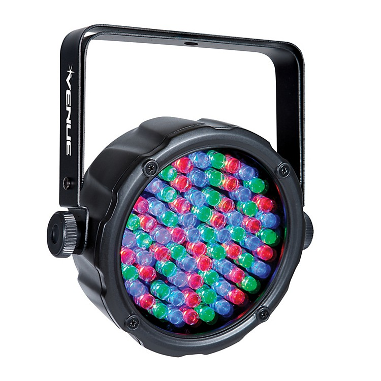 Venue ThinPar38 10mm LED Lightweight Par Light Black