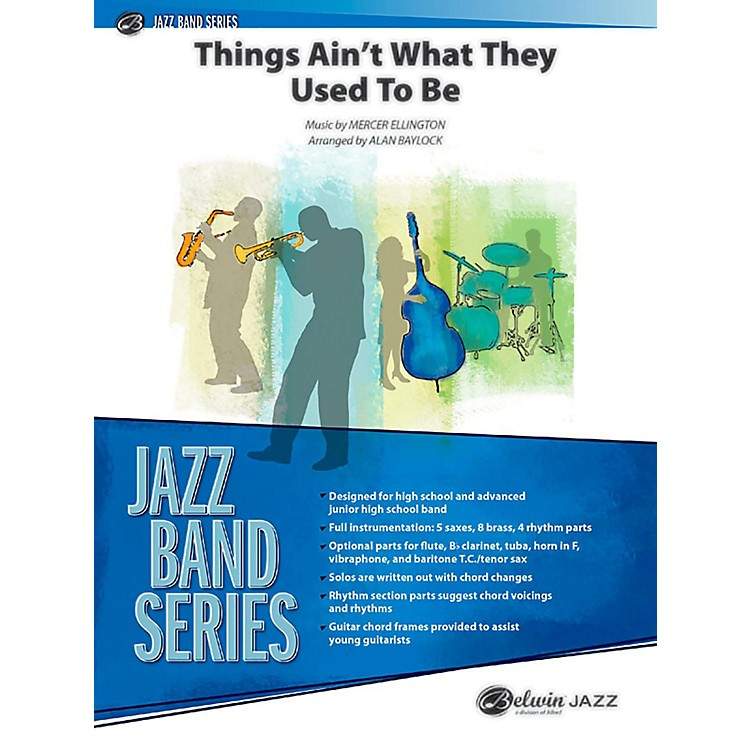 BELWINThings Ain't What They Used to Be Jazz Ensemble Grade 3 (Medium)