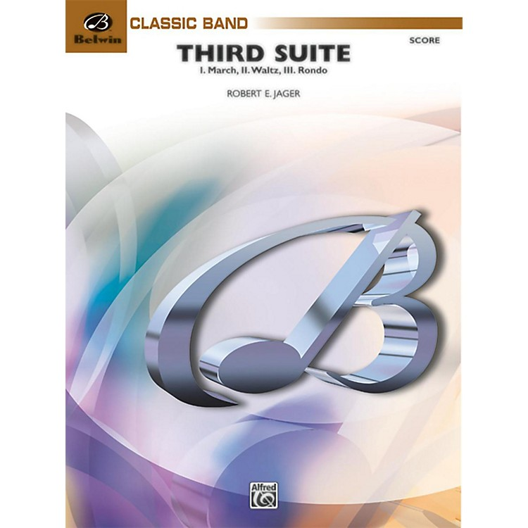 BELWIN Third Suite (I. March, II. Waltz, III. Rondo) Grade 3.5 (Medium Easy to Medium)