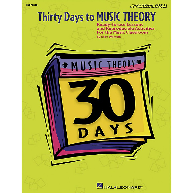 Hal LeonardThirty Days to Music Theory (Classroom Resource)