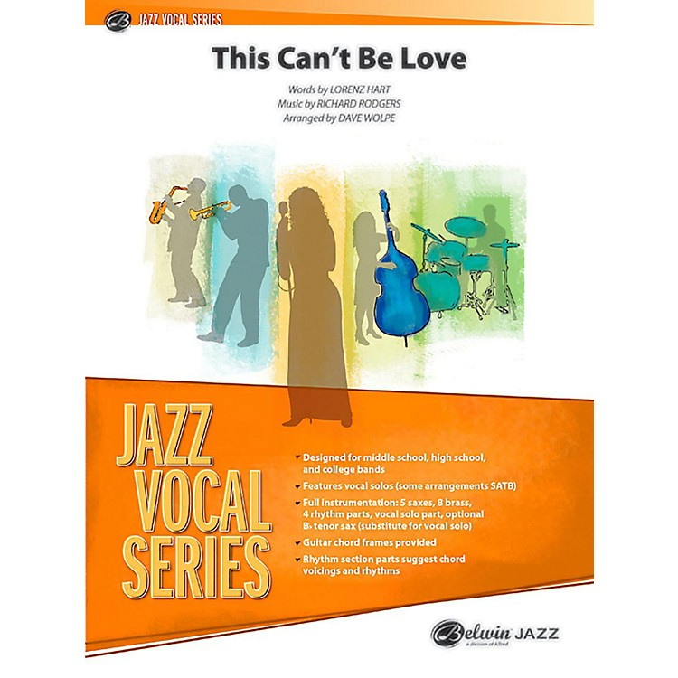 BELWIN This Can't Be Love Jazz Ensemble Grade 3.5 (Medium)