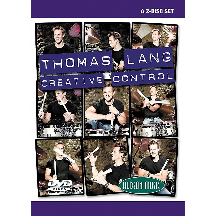 Hudson MusicThomas Lang - Creative Control (DVD)