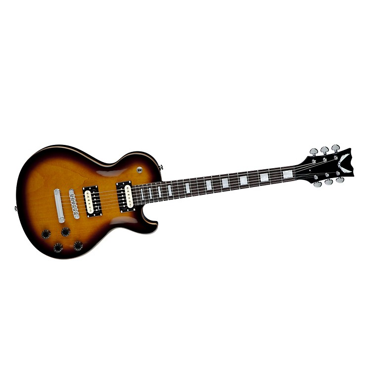 Dean Thoroughbred Maple Top Electric Guitar Trans Brazilia