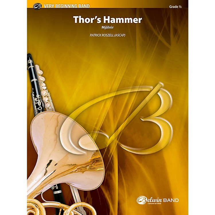 BELWINThor's Hammer Concert Band Grade 0.5 (Very Easy)