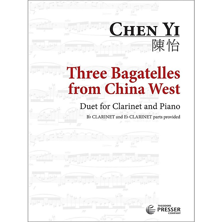 Carl FischerThree Bagatelles from China West - Clarinet with Piano