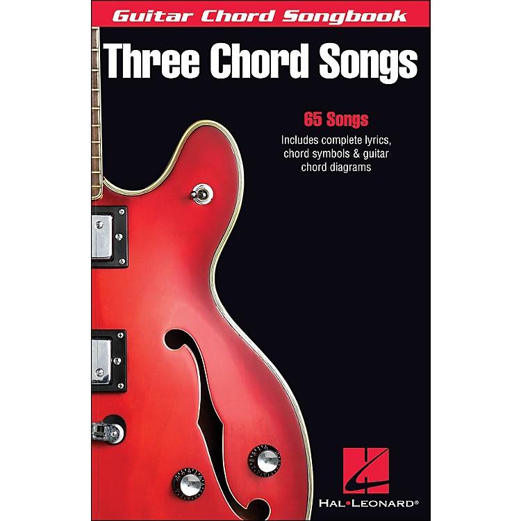 Hal LeonardThree Chord Songs Guitar Chord Songbook