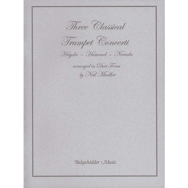Carl FischerThree Classic Trumpet Concertos Book