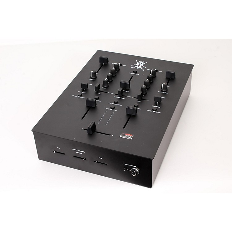 DJ TECH Thud Rumble TRX Scratch Mixer Black 888365856766