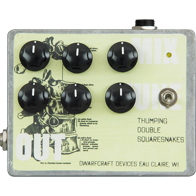 Dwarfcraft Thumping Double Squaresnakes Synthesizer Guitar Effects Pedal