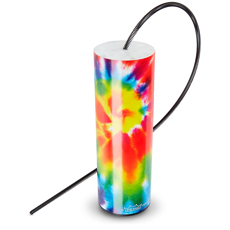 Remo Thunder Tube Spring Drum Tie Dye 7 x 2 in.