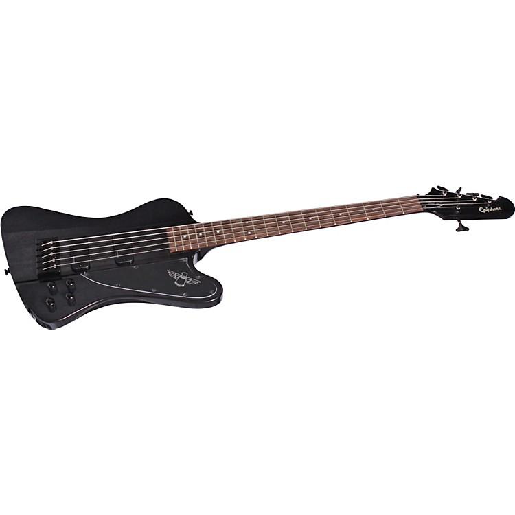 EpiphoneThunderbird Pro-V 5-string BassTransparent Black