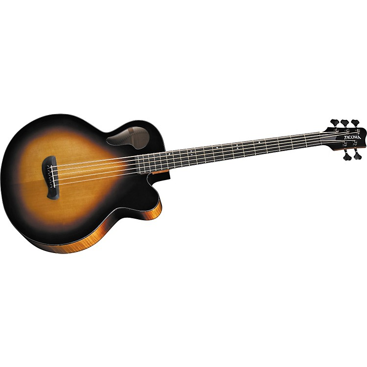 tacoma thunderchief 5 string acoustic electric bass guitar music123. Black Bedroom Furniture Sets. Home Design Ideas