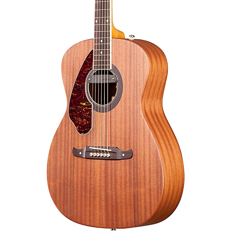 Fender Tim Armstrong Left-Handed Deluxe Acoustic-Electric Guitar Natural