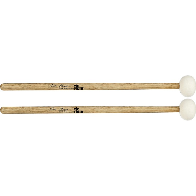 Vic Firth Tim Genis Beethoven Timpani Mallets  Hard