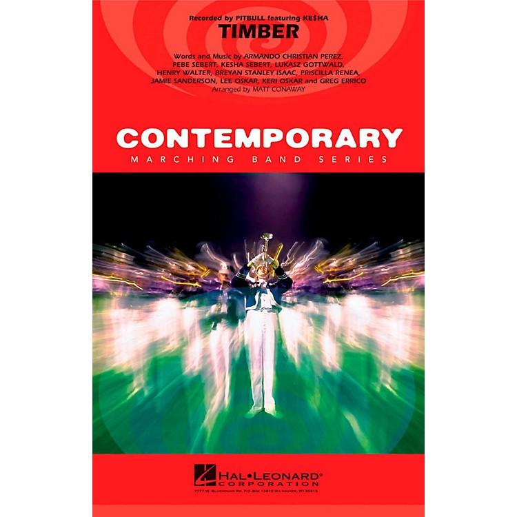 Hal LeonardTimber - Pep Band/Marching Band Level 3