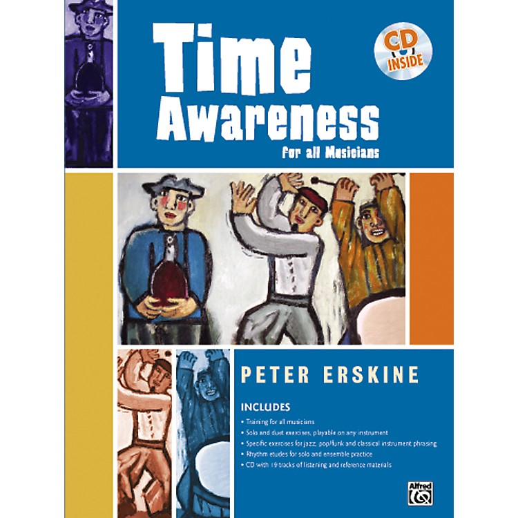 AlfredTime Awareness for All Musicians Book and CD