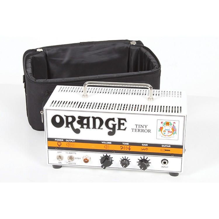Orange Amplifiers Tiny Terror Series TT15 15W Tube Mini Amp Head Orange