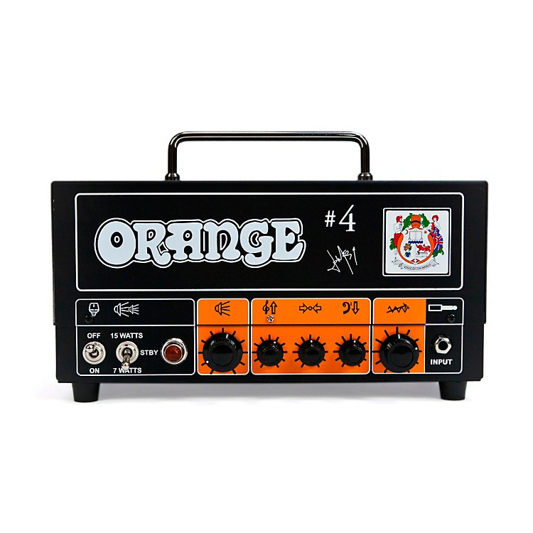 Orange Amplifiers Tiny Terror TT15JR Jim Root #4 Signature 15W Tube Guitar Amp Head Orange