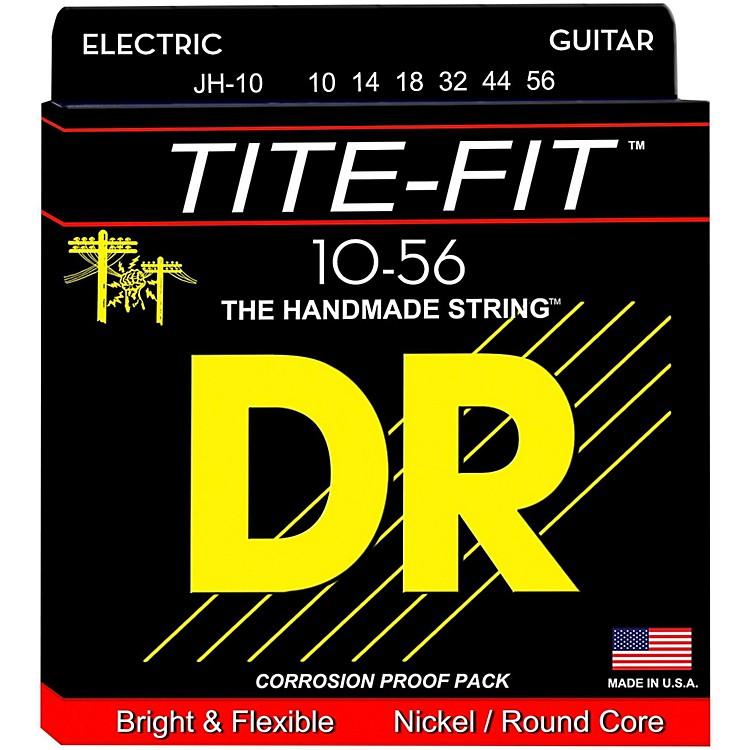 DR StringsTite-Fit JH-10 Jeff Healey Medium Nickel Plated Electric Guitar Strings
