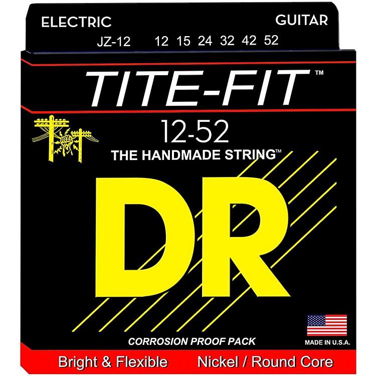 DR StringsTite-Fit JZ-12 Jazz Nickel Plated Electric Guitar Strings