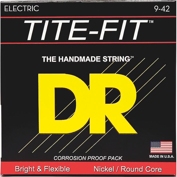 DR StringsTite-Fit LT-9 Lite-n-Tite Nickel Plated Electric Guitar Strings