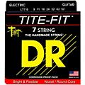 DR Strings Tite-Fit LT7-9 Lite 7-String Nickel Plated Electric Guitar Strings
