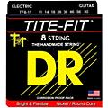 DR Strings Tite-Fit Nickel Plated Extra Heavy 8-String Electric Guitar Strings (11-80)