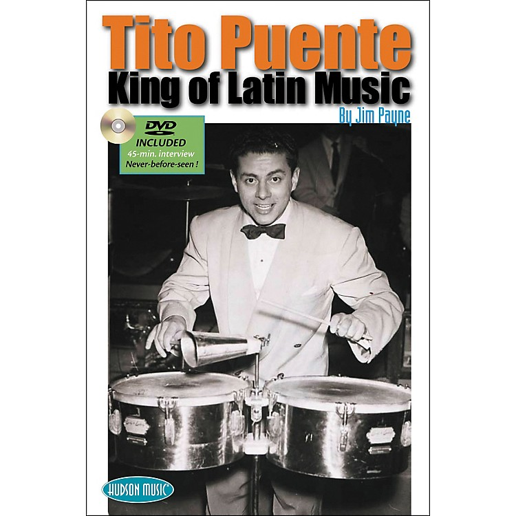 Hudson MusicTito Puente - King of Latin Music Book with DVD
