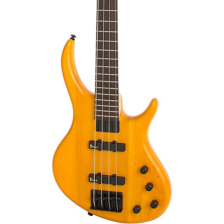 Tobias Toby Deluxe-IV Electric Bass Trans Amber