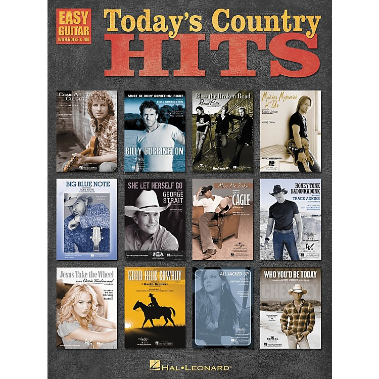Hal LeonardToday's Country Hits Easy Guitar Tab Songbook