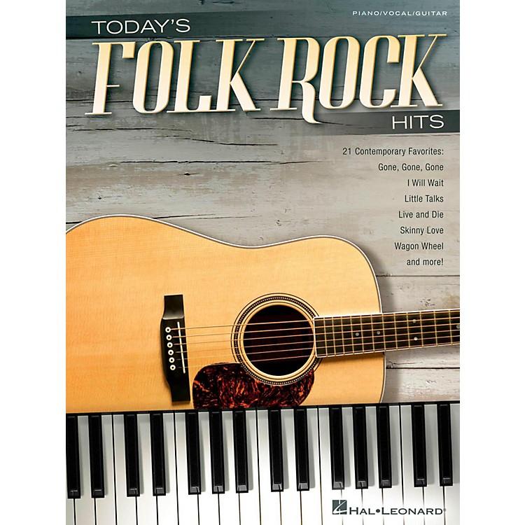 Hal LeonardToday's Folk Rock Hits Piano/Vocal/Guitar Songbook