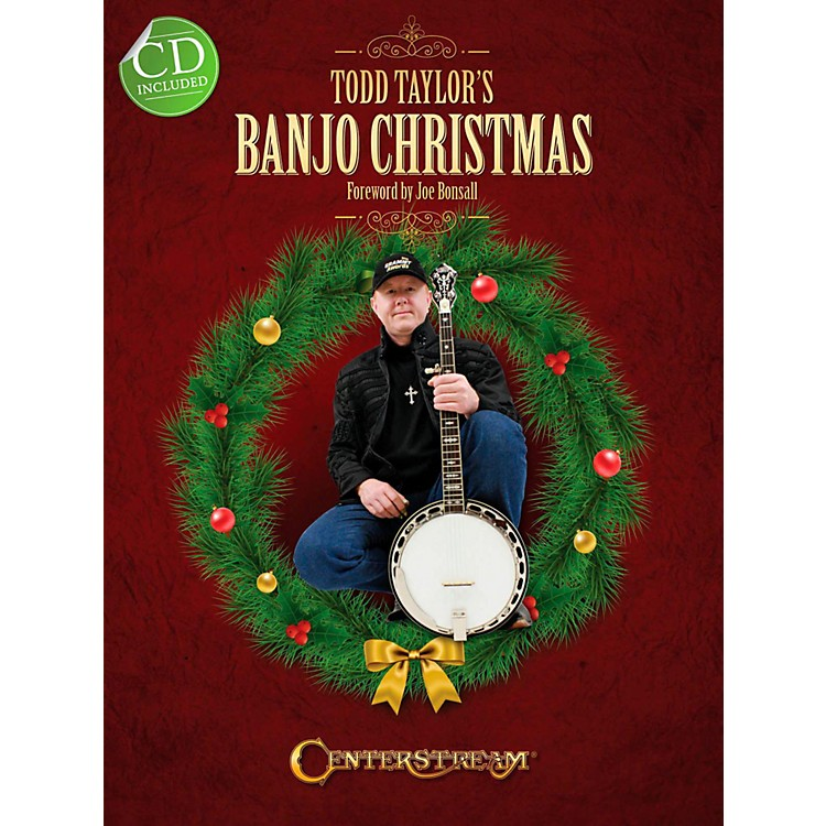 Centerstream Publishing Todd Taylor's Banjo Christmas (Book/CD)