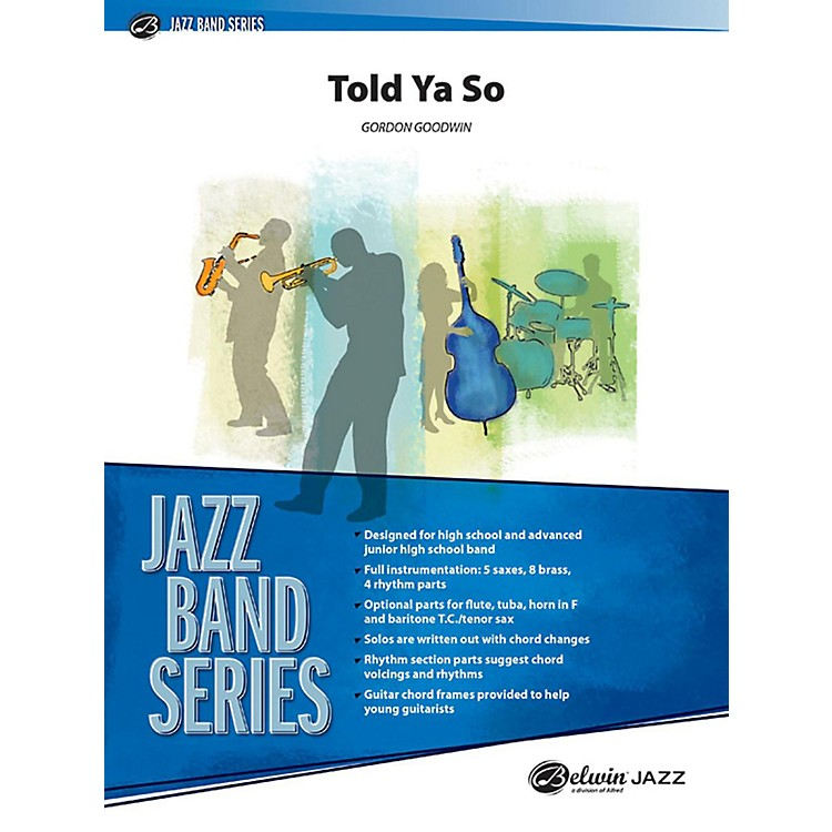 Alfred Told Ya So Jazz Band Grade 3 Set