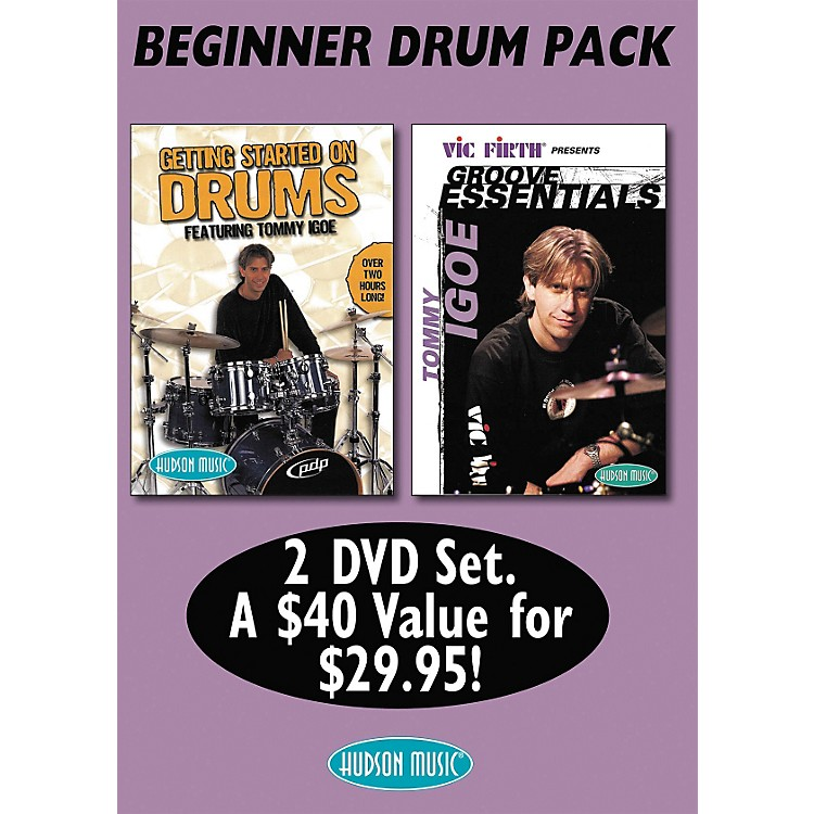 Hudson MusicTommy Igoe: Getting Started - Groove Essentials (DVD 2-Pack)